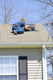 Roof inspector poster