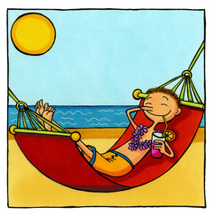 Urlaubs Comics Serie 2