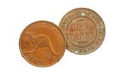 Old Australian Pennies poster