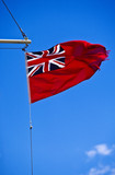 Great Britain marine flag poster