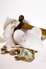 Broken Bank, American Currency