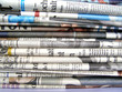 Stack of newspapers - 6879315