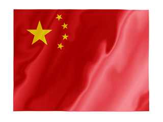 China fluttering