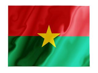Burkina Faso fluttering