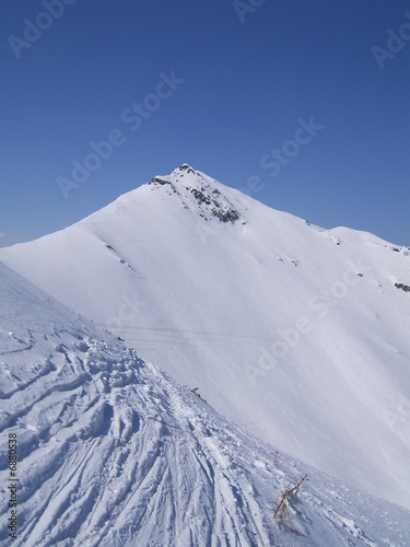 Peak in Winter