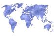 Planisphère : eau