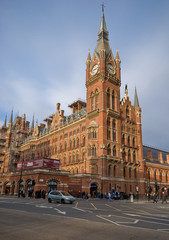St Pancras International Train Station