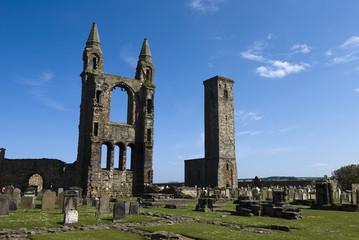 Ruines de la cathédrale de St Andrews
