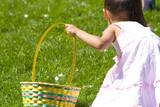 Fototapety easter egg hunt