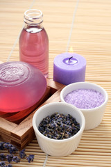 aromatic lavender bath