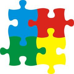 colores de puzzle