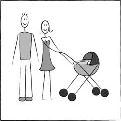 histoire d'un couple - bébé