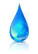 Le monde dans une goutte d'eau