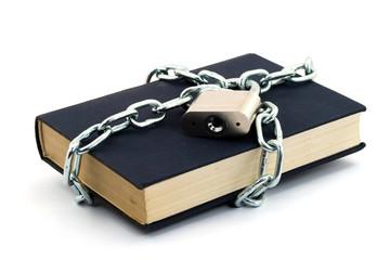 locked book