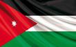 Drapeau de la Jordanie , Royaume Hachémite de