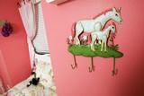 Little Girls Pink Pony Room poster