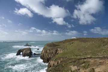 Land's end, Cornwall. England