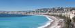 Nice panorama Promenade des Anglais