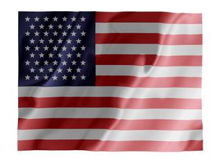 USA fluttering