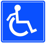 wheelchair accessible or handicap on the move poster