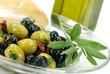 Antipasti mit Oliven