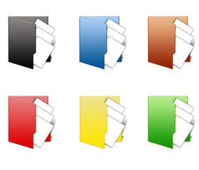 Paper Folder Icons
