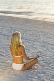 Yoga At Sundown poster