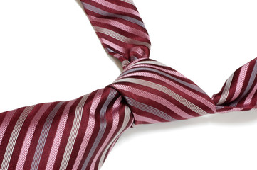 Stripped necktie