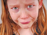 Crying Girl with Tears poster