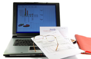 Budget of a project and Cash Flow management .
