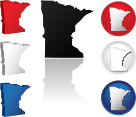 State of Minnesota Icons