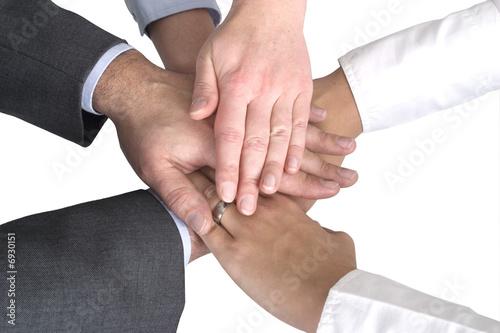 Business Team - Hände