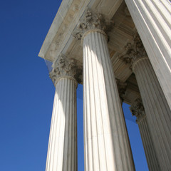 Supreme court columns Washington DC