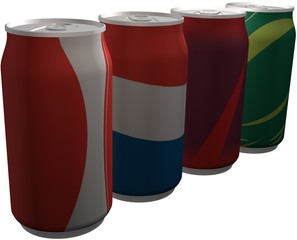 4 Pop Cans