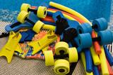 Fototapety equipment for aqua aerobics