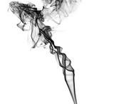 imaginative smoky abstract chaos poster