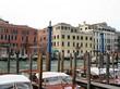 Bateaux et Pilotis, Grand canal, Venise, Italie