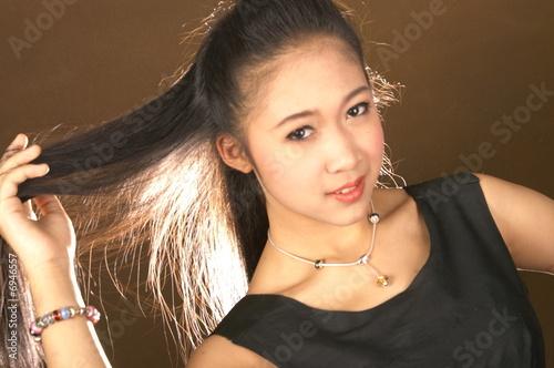 Young teen model