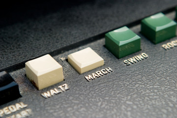 March Organ Beat Button