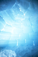 Igloo Interior Background