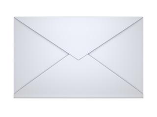 sealed envelope isolated