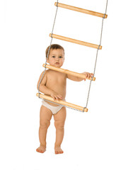 Boy with a rope-ladder 2
