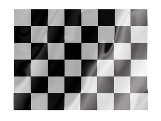 Checkered fluttering