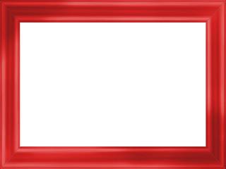 Cadre en bois rouge