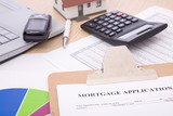 mortgage application poster