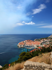 City of Dubrovnik, Croatia, Adriatic sea