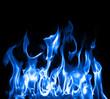 Blue flames - 6969902