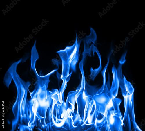 In de dag Vuur / Vlam Blue flames