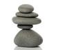 galet méditation réflexion équilibre tour esprit zen kern