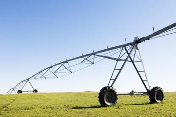 Resting irrigation pivot